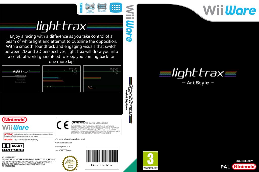 Art Style: light trax Wii coverfullHQ (WALP)