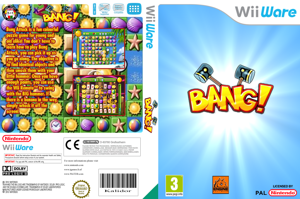 Bang Attack Wii coverfullHQ (WBGP)