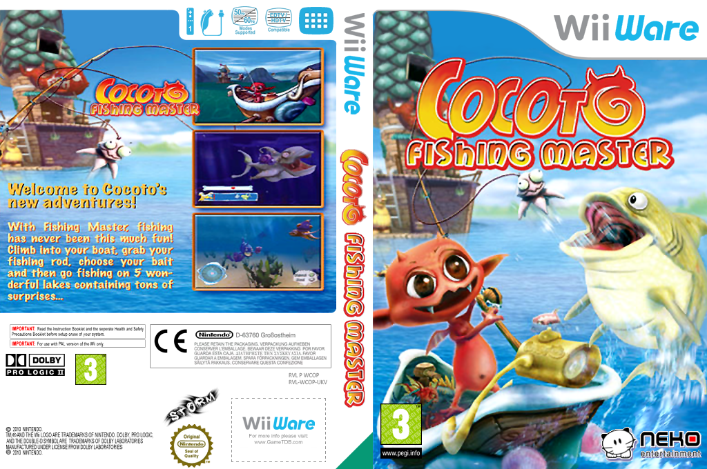 Cocoto Fishing Master Wii coverfullHQ (WCOP)