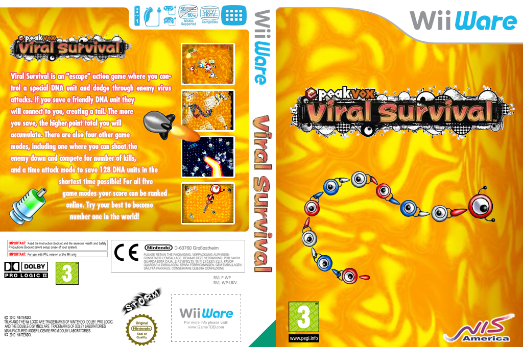 Viral Survival Wii coverfullHQ (WEVP)
