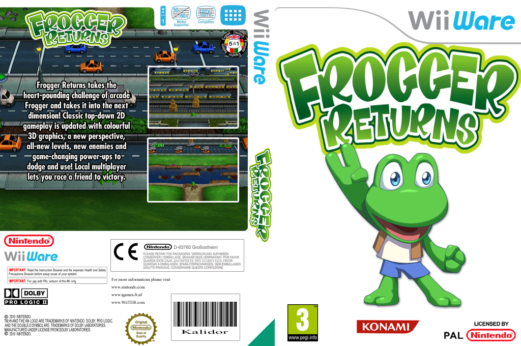 Frogger Returns Wii coverfullHQ (WFRP)