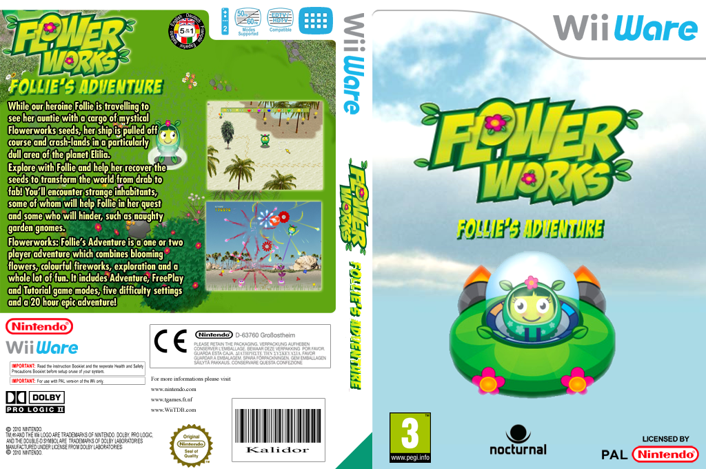 Flowerworks: Follie's Adventure Wii coverfullHQ (WFWP)