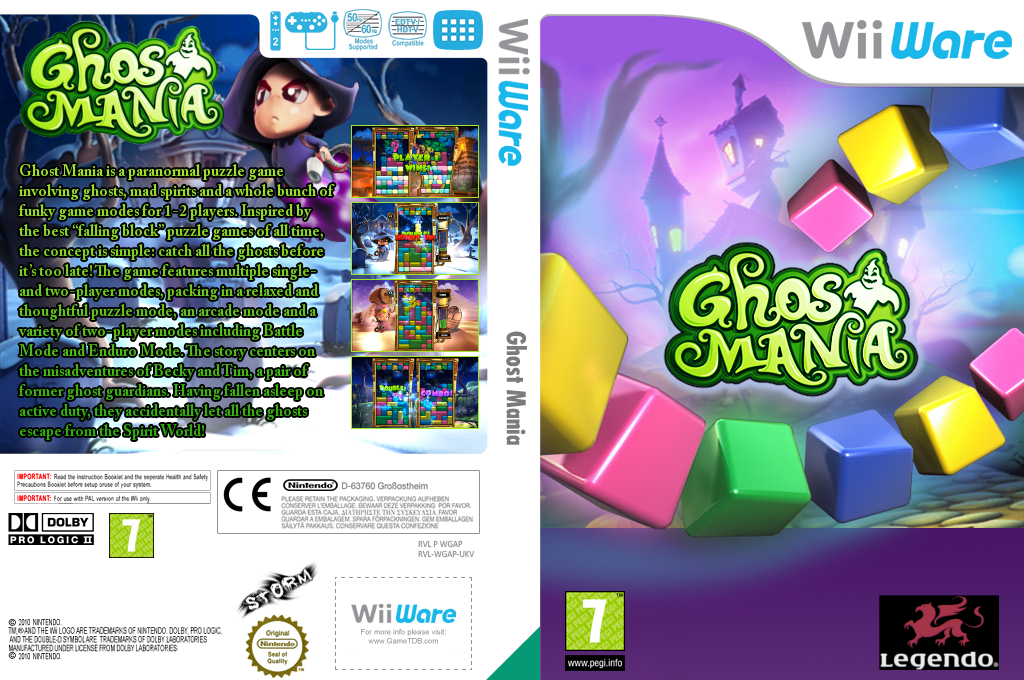 Ghost Mania Wii coverfullHQ (WGAP)