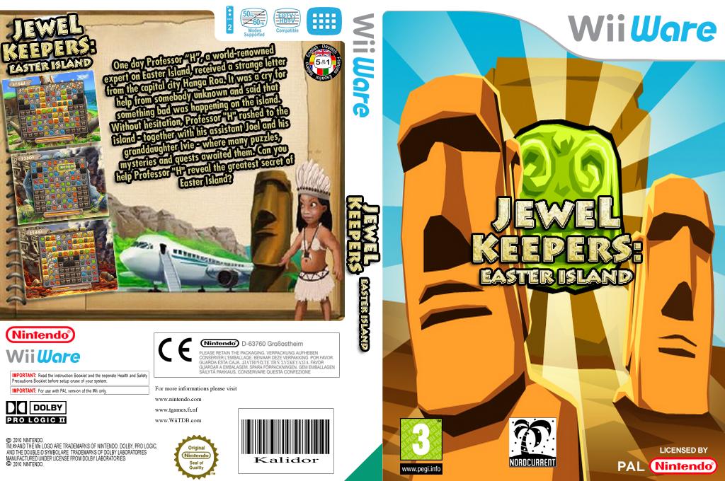 Jewel Keepers: Easter Island Wii coverfullHQ (WJKP)