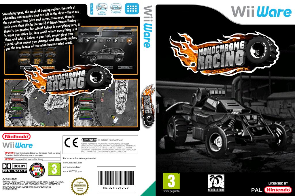 Monochrome Racing Wii coverfullHQ (WMRP)