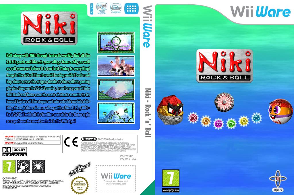 Niki - Rock 'n' Ball Wii coverfullHQ (WNKP)