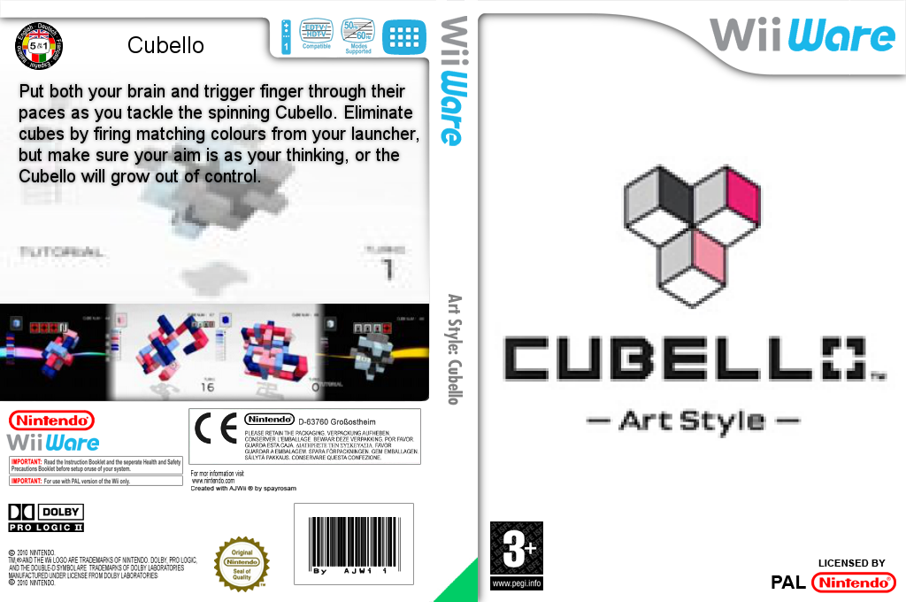 Art Style: CUBELLO Wii coverfullHQ (WPRP)