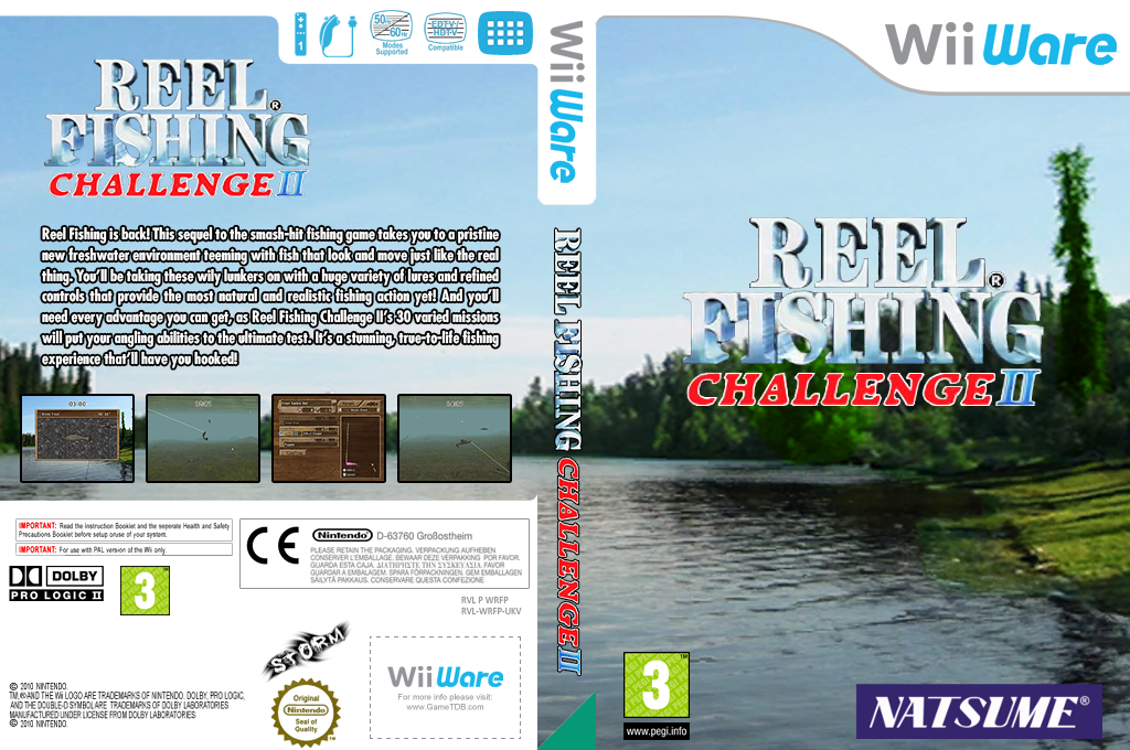 Reel Fishing Challenge II Wii coverfullHQ (WRFP)