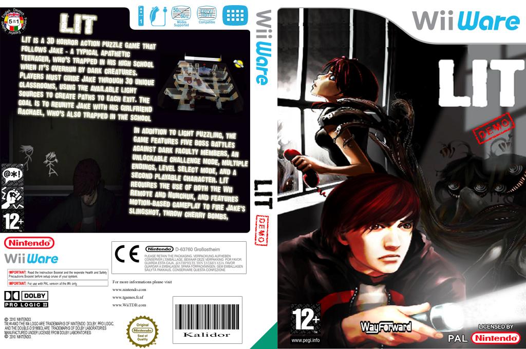 Lit (Demo) Wii coverfullHQ (XH7P)