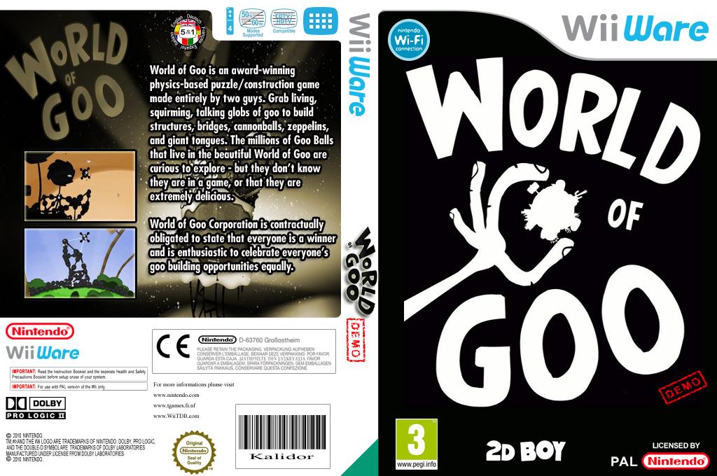 World of Goo (Demo) Wii coverfullHQ (XHFP)