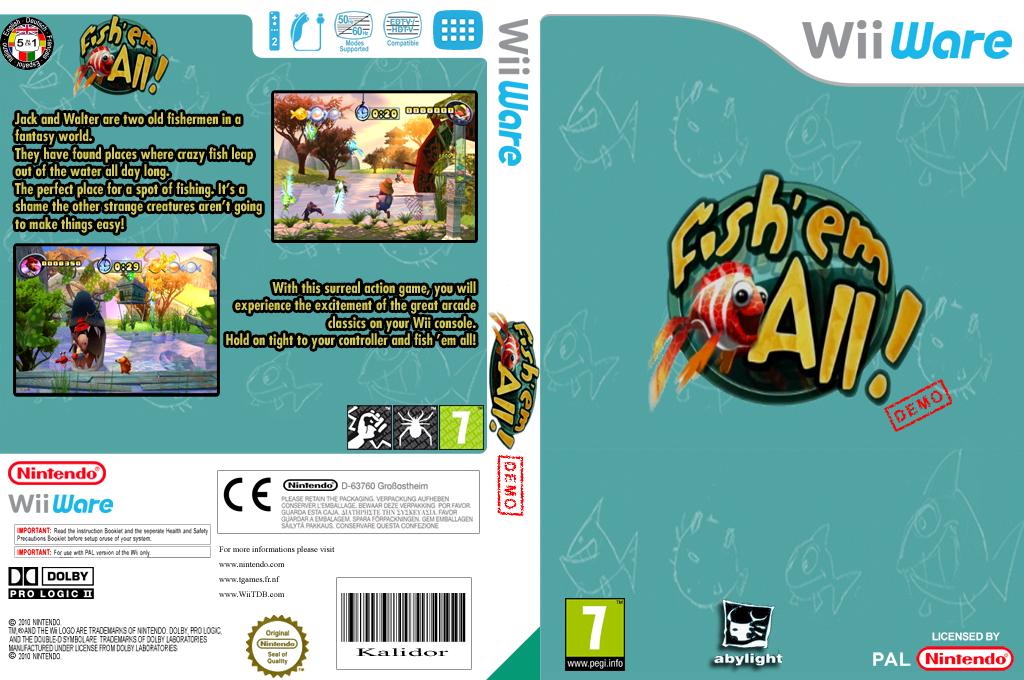 Fish em All Demo Wii coverfullHQ (XIBP)