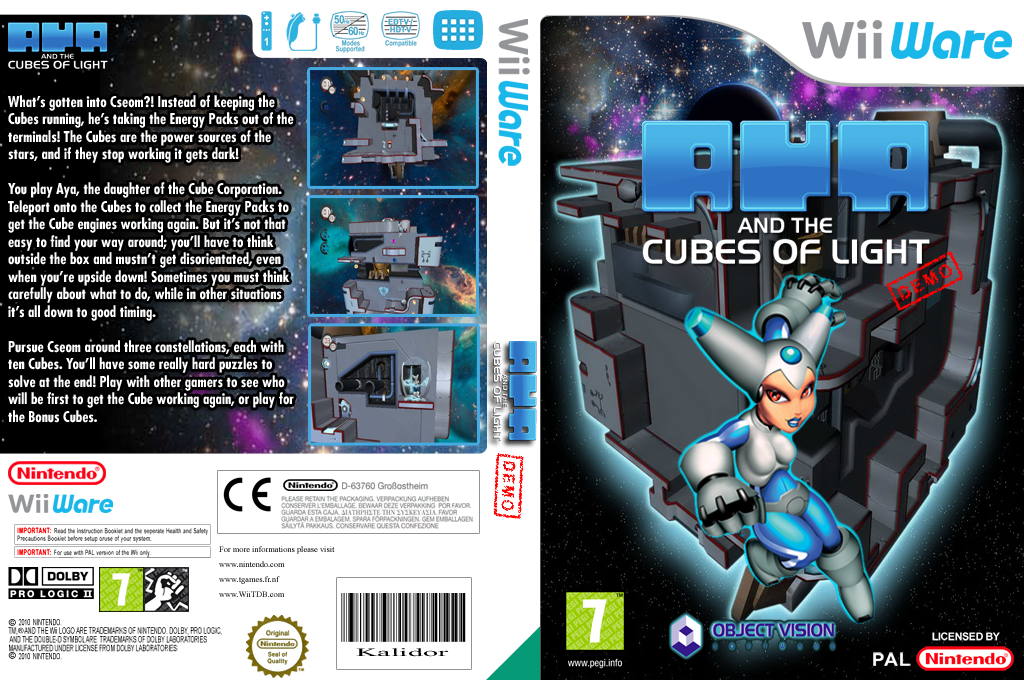 Aya and the Cubes of Light Demo Wii coverfullHQ (XJEP)