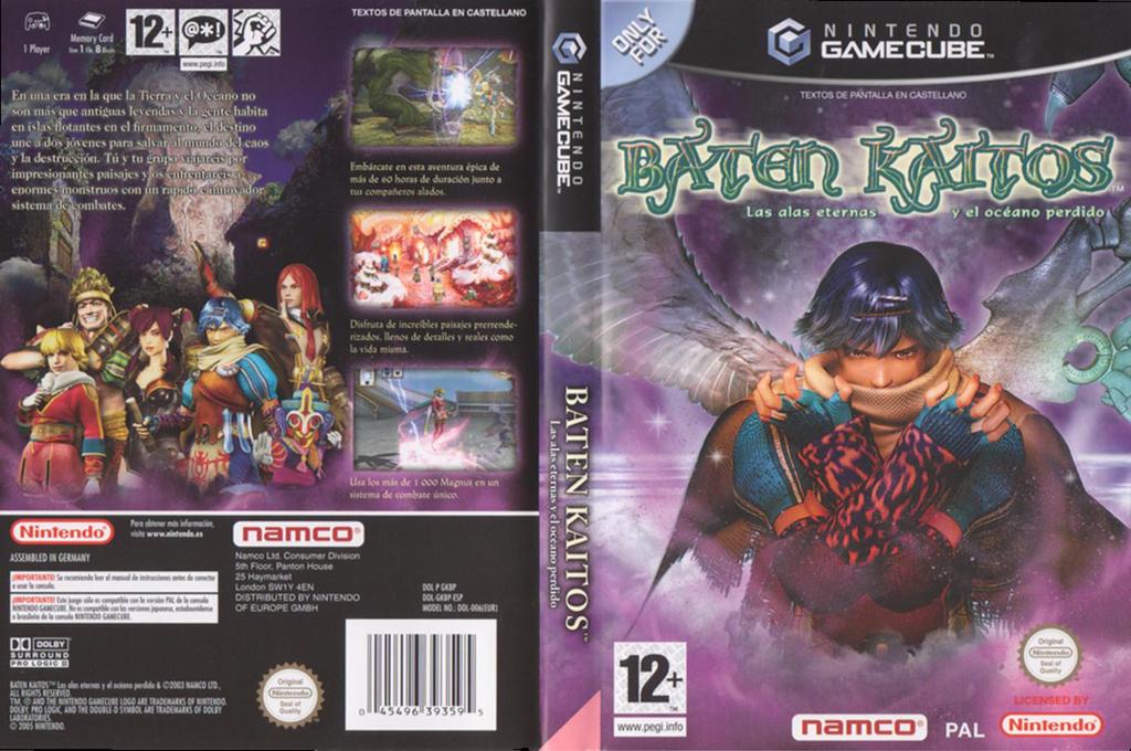 Baten Kaitos:Las alas eternas y el océano perdido Wii coverfullHQ (GKBPAF)