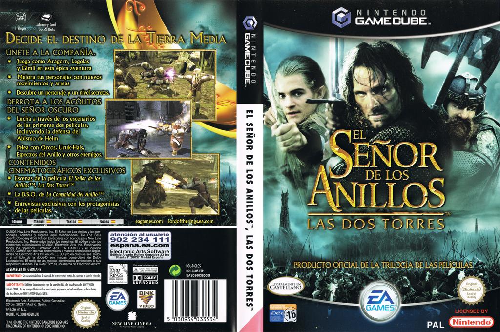 El Señor de los Anillos: Las Dos Torres Wii coverfullHQ (GLOS69)
