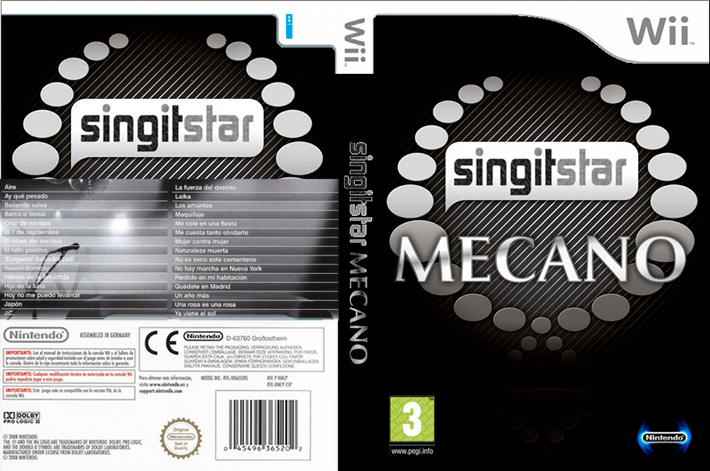 SingItStar Mecano Wii coverfullHQ (MECPSI)