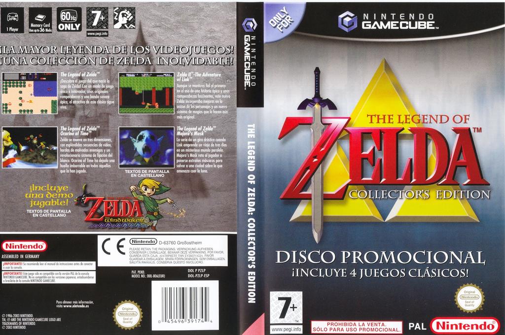 Pzlp01 The Legend Of Zelda Collector S Edition