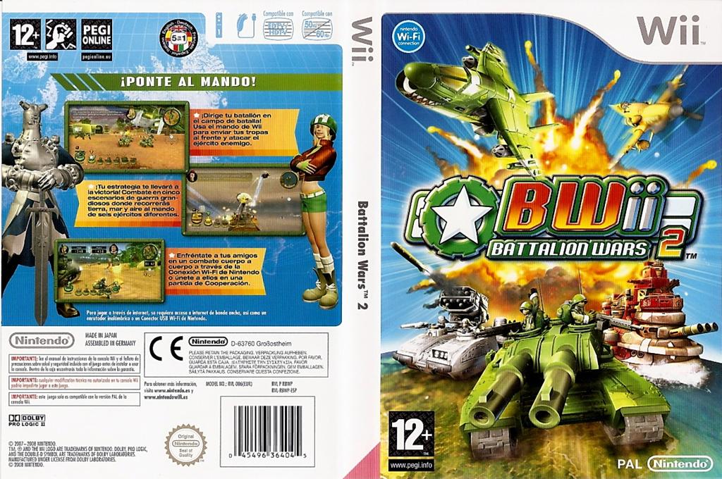 Battalion Wars 2 Wii coverfullHQ (RBWP01)