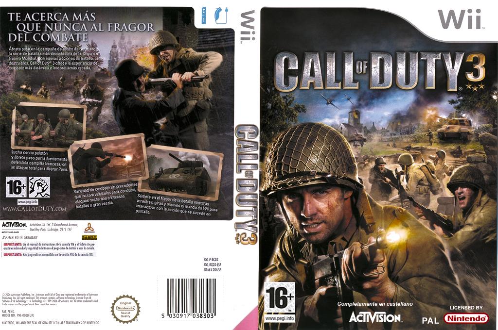 Call of Duty 3 Wii coverfullHQ (RCDX52)