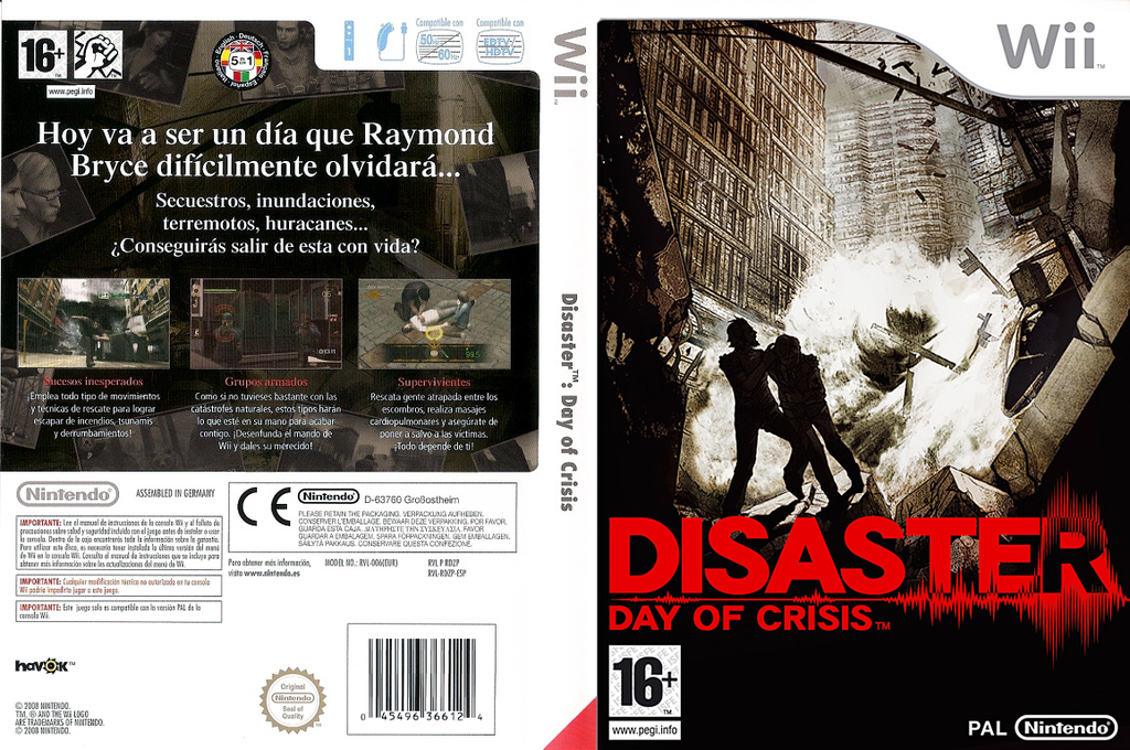 Disaster: Day of Crisis Wii coverfullHQ (RDZP01)