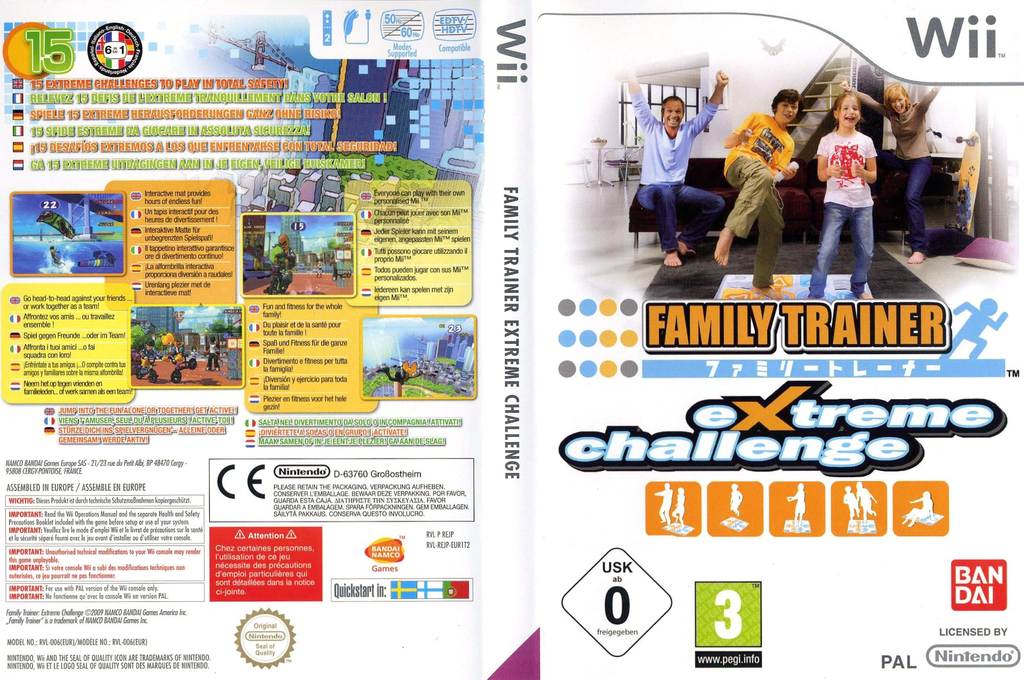 Family Trainer: Extreme Challenge Wii coverfullHQ (REJPAF)