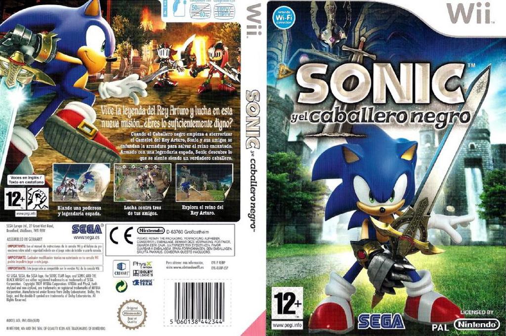 Sonic y el Caballero Negro Wii coverfullHQ (RENP8P)