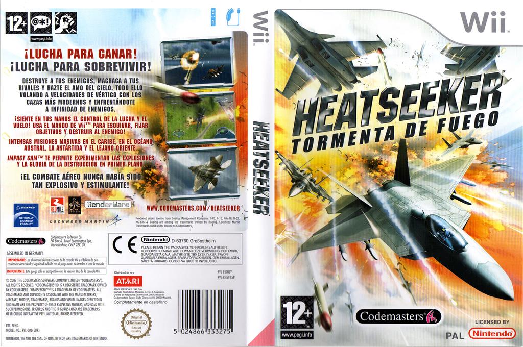 Heatseeker: Tormenta de Fuego Wii coverfullHQ (RHSP36)