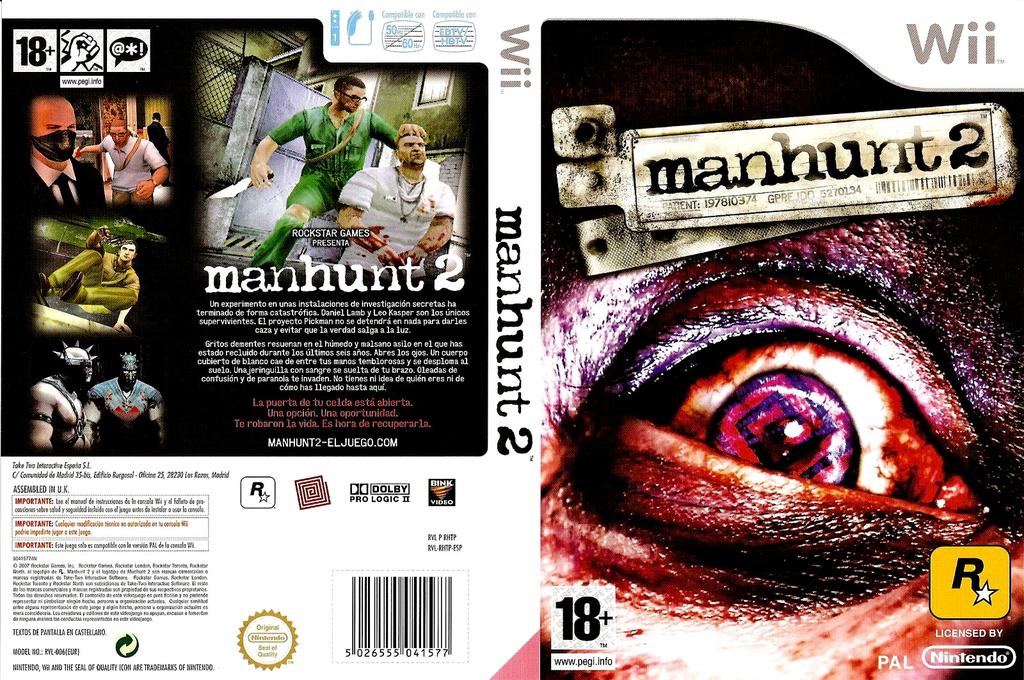 Manhunt 2 Wii coverfullHQ (RHTP54)