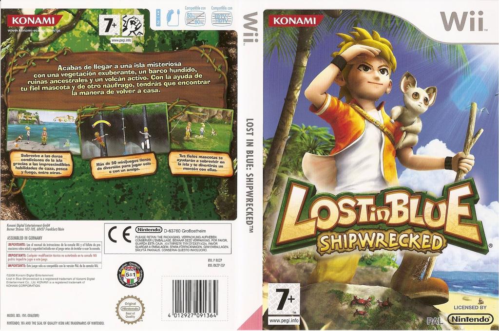 Lost in Blue: Shipwrecked Wii coverfullHQ (RKZPA4)