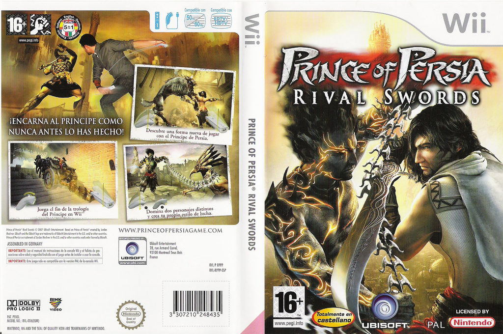 Prince of Persia: Rival Swords Wii coverfullHQ (RPPP41)