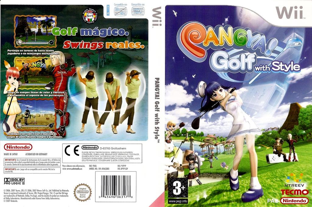Pangya! Golf con Estilo Wii coverfullHQ (RPYP9B)