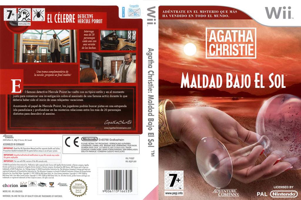 Agatha Christie: Maldad Bajo el Sol Wii coverfullHQ (RQEP6V)