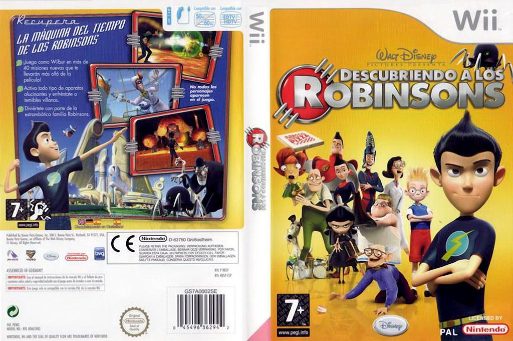 Descubriendo a los Robinsons Wii coverfullHQ (RRSP4Q)