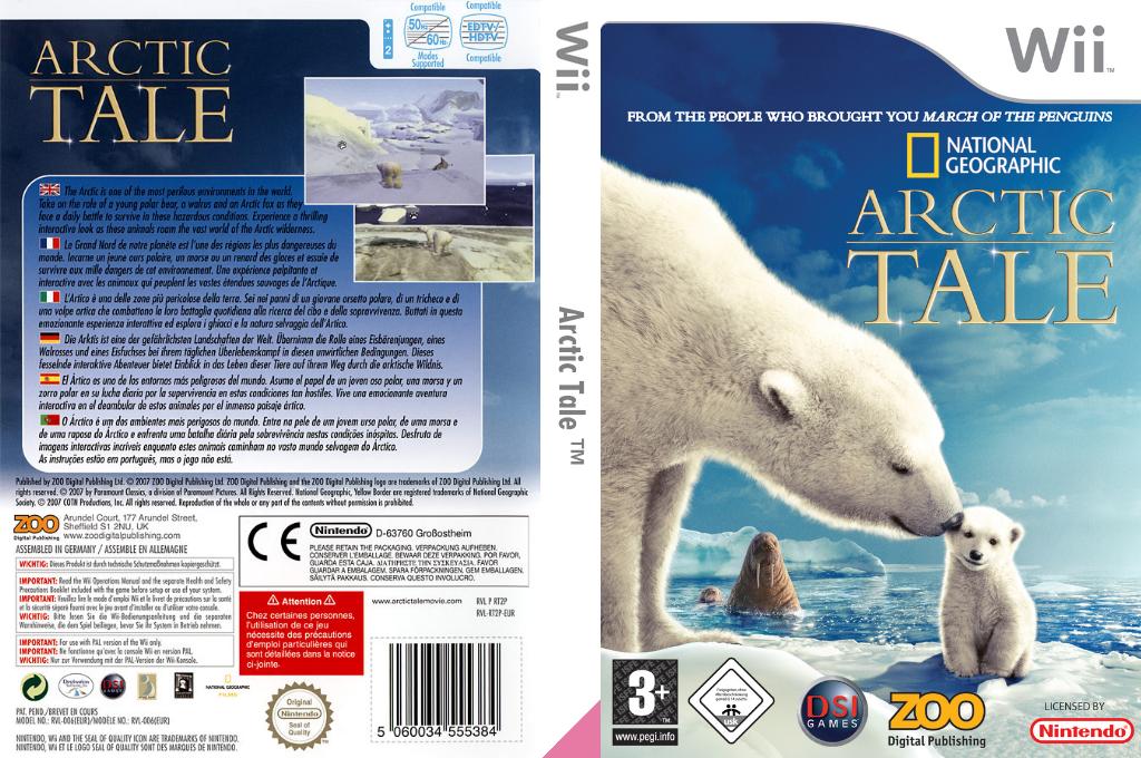 Arctic Tale Wii coverfullHQ (RT2P7J)