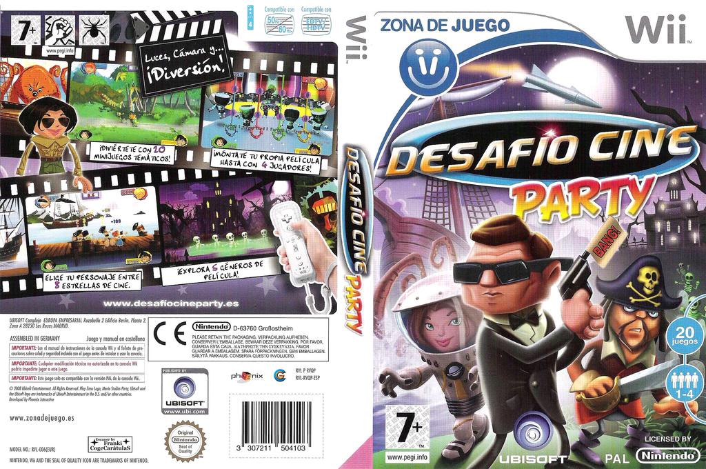 Desafío Cine Party Wii coverfullHQ (RVQP41)
