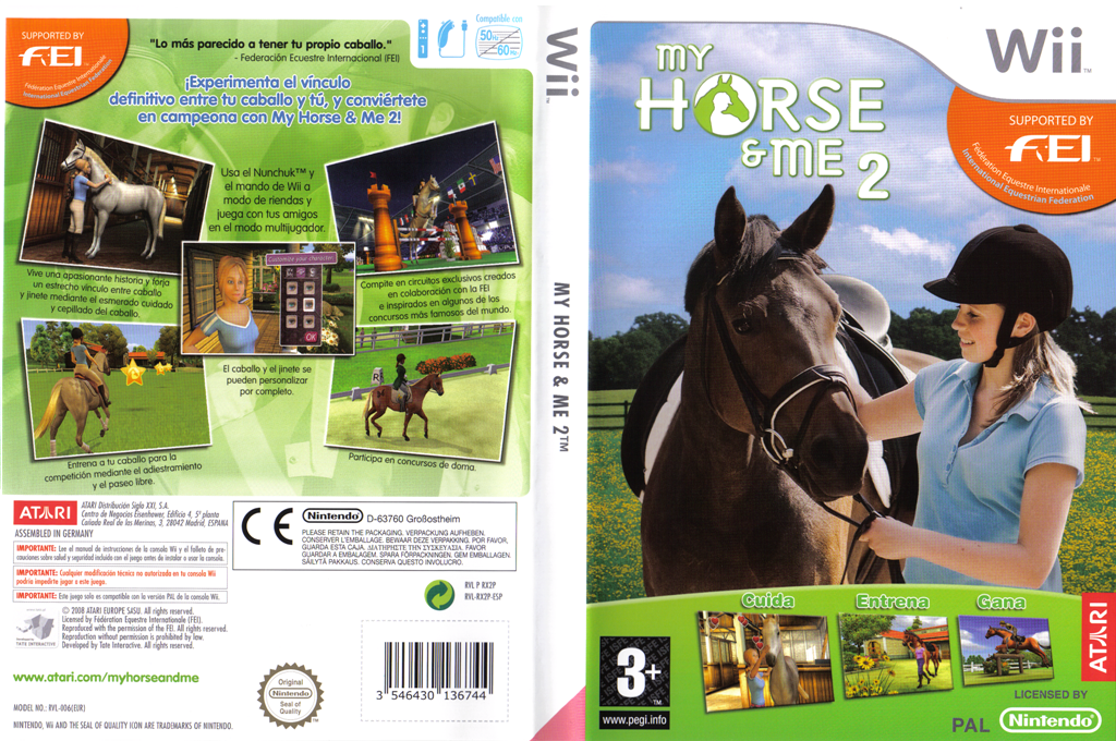 My Horse & Me 2 Wii coverfullHQ (RX2P70)