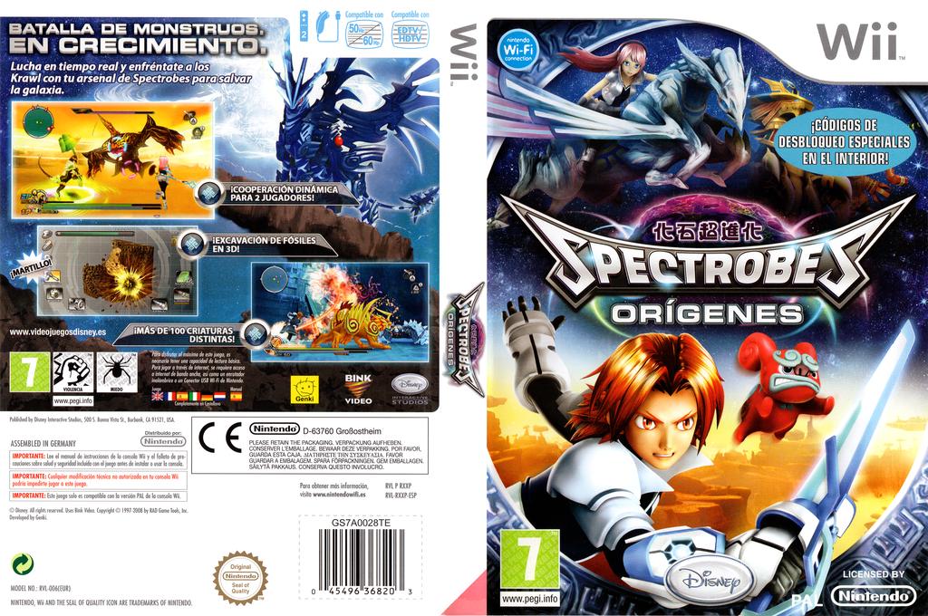 Spectrobes: Orígenes Wii coverfullHQ (RXXP4Q)