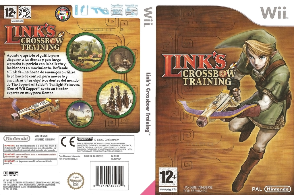 Link's Crossbow Training Wii coverfullHQ (RZPP01)
