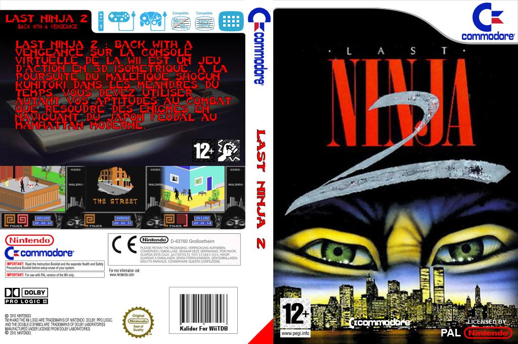 The Last Ninja 2 Wii coverfullHQ (C93P)