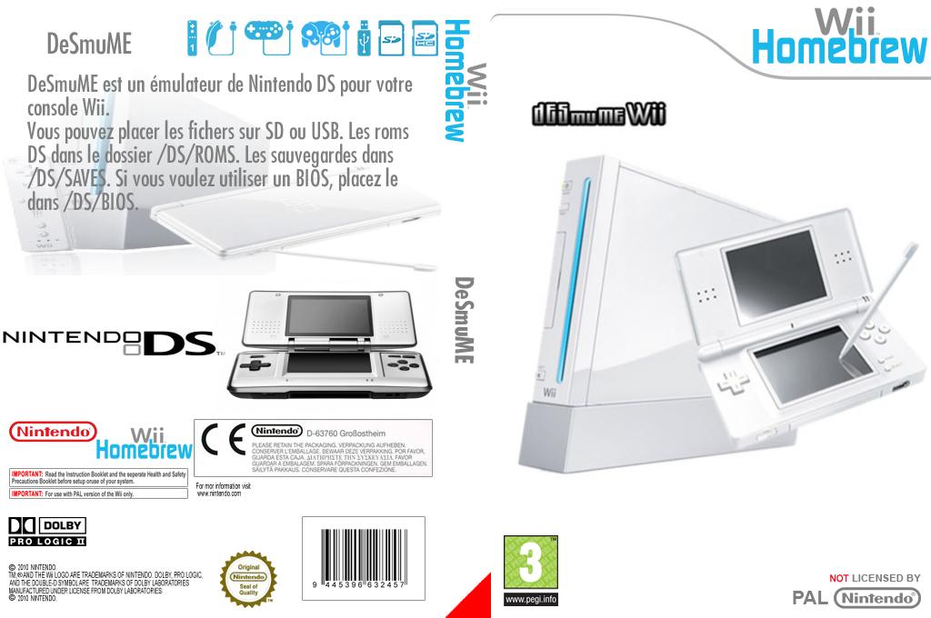DeSmuME Wii coverfullHQ (DDSA)