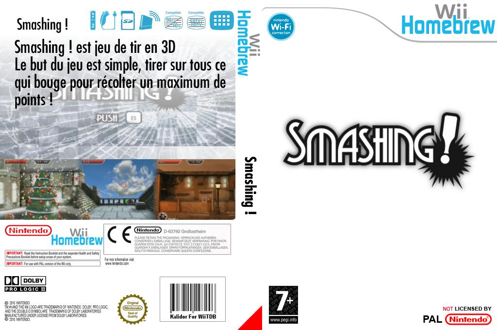 Smashing! Wii coverfullHQ (DFGA)