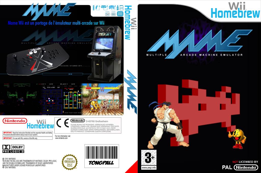 Mame Wii Wii coverfullHQ (DMAA)