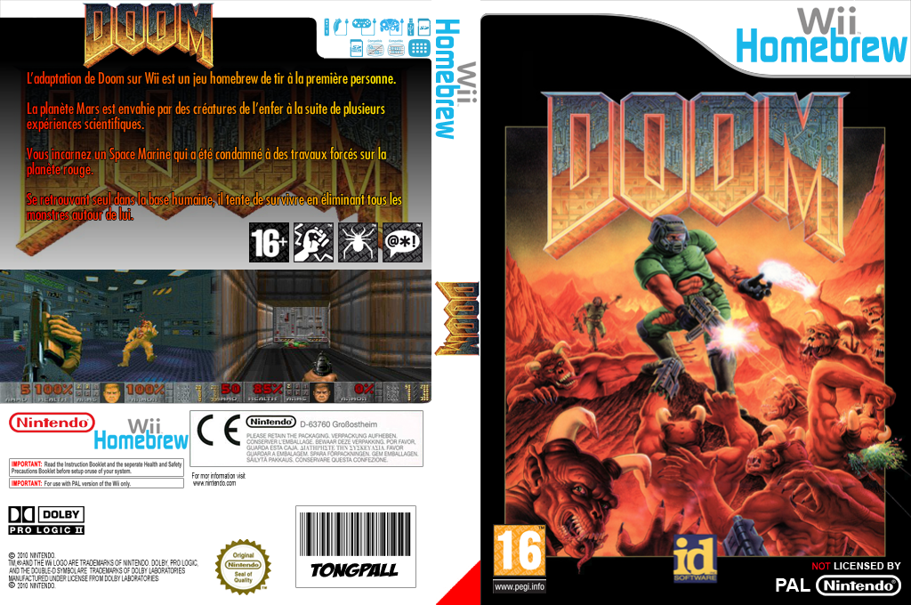 Doom Wii coverfullHQ (DOOA)