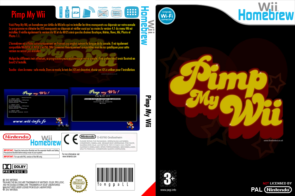 Pimp my Wii Wii coverfullHQ (DPWA)