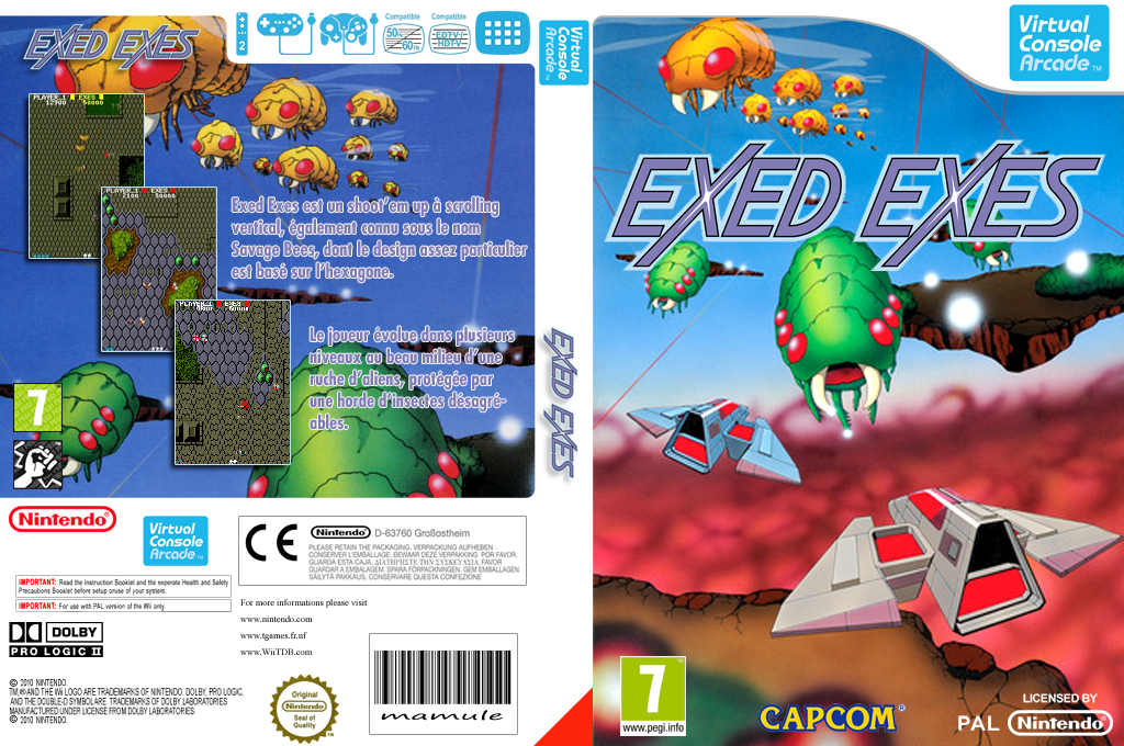 Exed Exes Wii coverfullHQ (E56P)