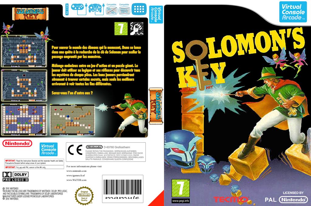 Solomon's Key Wii coverfullHQ (E6NP)