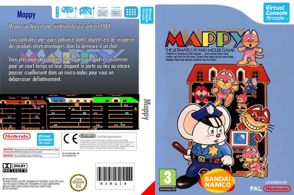 Mappy Wii coverfullHQ (E73P)