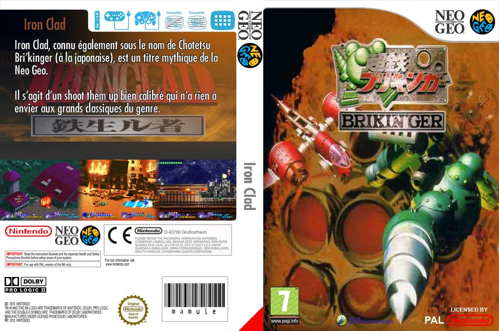 Iron Clad Wii coverfullHQ (EA8M)