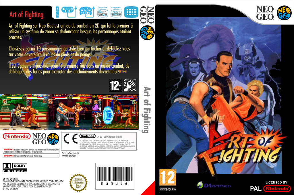 Art of Fighting Wii coverfullHQ (EADP)