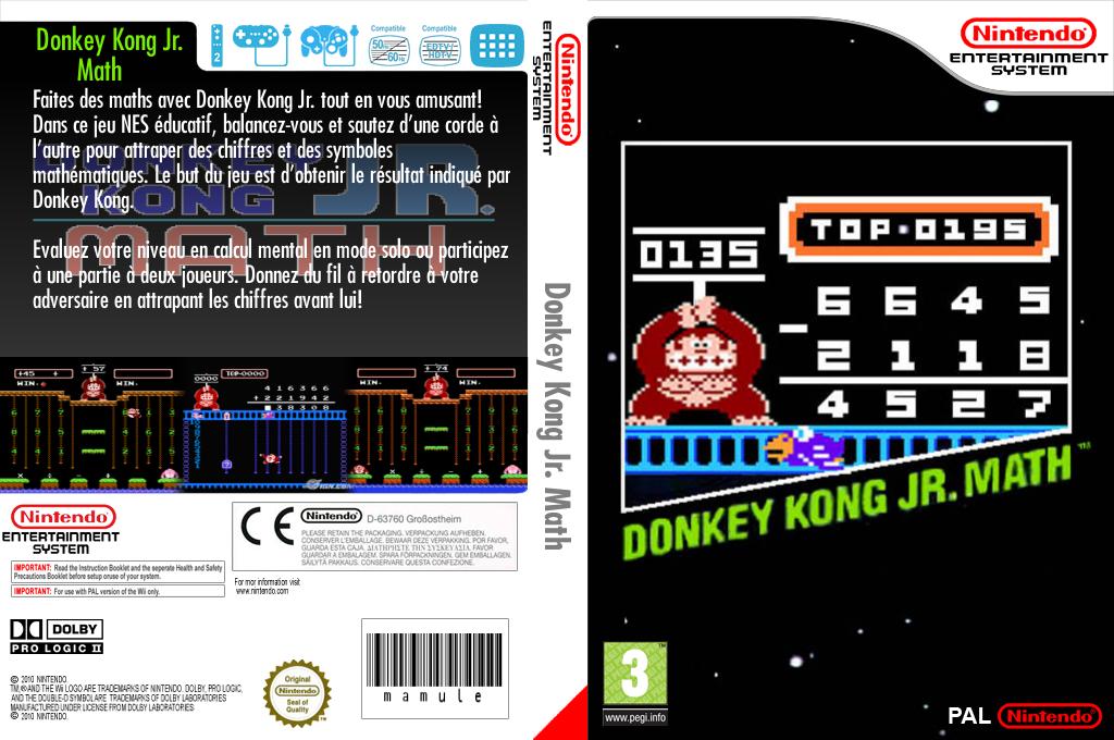 Donkey Kong Jr. Math Wii coverfullHQ (FA6P)