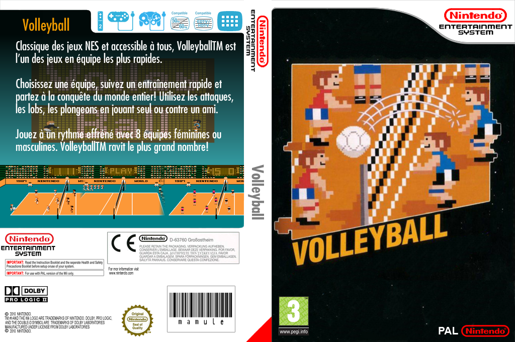 Volleyball Wii coverfullHQ (FCUP)